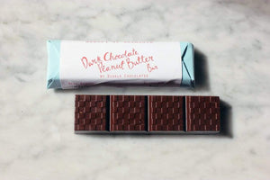 Diggle Chocolates All Products Dark Chocolate Peanut Butter Bar