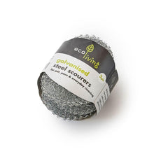 Load image into Gallery viewer, Eco Living All Products Steel Scourers (x3)