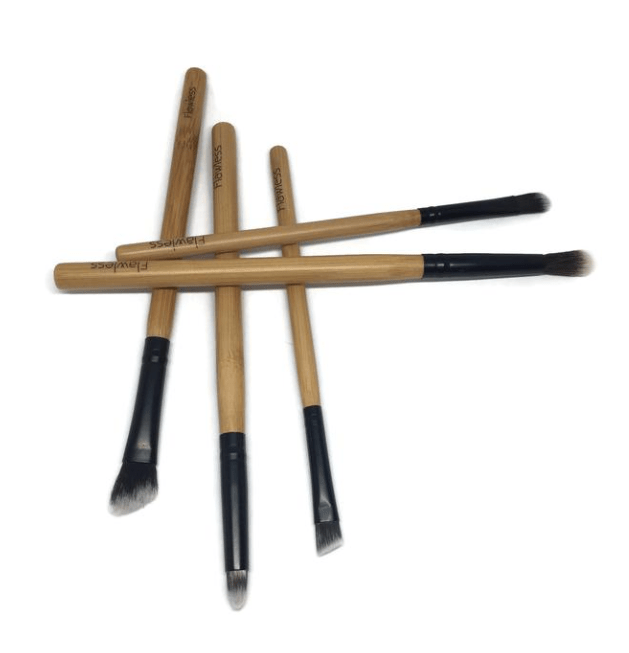 Flawless All Products Glamour Eyes Vegan Make Up Brush Set