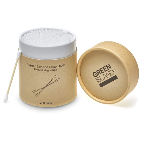 Green Island All Products Organic Bamboo Cotton Buds 200