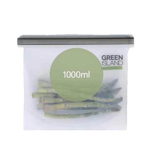 Green Island All Products Silicone Ziplock Bag 1000ml
