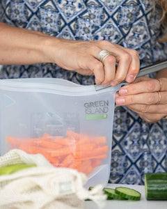 Green Island All Products Silicone Ziplock Bags 1500ml