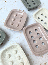Load image into Gallery viewer, HAAPA Ceramics All Products Powder Pink Ceramic Soap Dish With Holes
