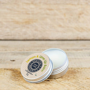 Heavenly Organics All Products Organic Lemon and Lime Lip Balm