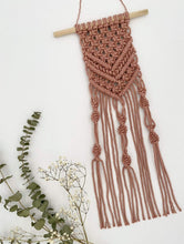 Load image into Gallery viewer, Kalicrame All Products DIY Macramé Mini Wall Hanging Kit