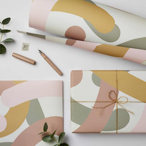 Katie Leamon All Products Mallow Gift Wrap (2 Sheets)