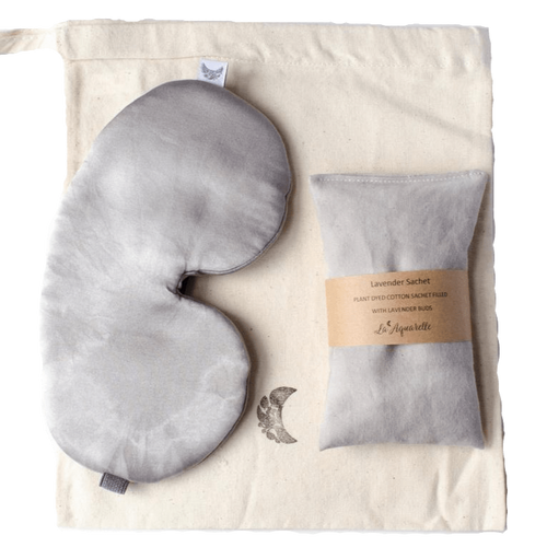 La Aquarelle All Products Organic and Natural Charcoal Sleeping Set