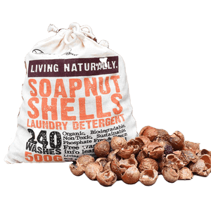 Living Naturally All Products 500g Organic Laundry Soapnuts