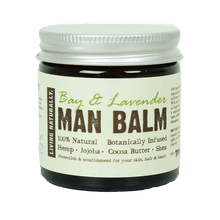 Load image into Gallery viewer, Living Naturally All Products Bay & Lavender Man Balm Moisturiser