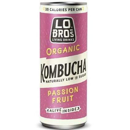 Lo Bros All Products Organic Kombucha Passionfruit
