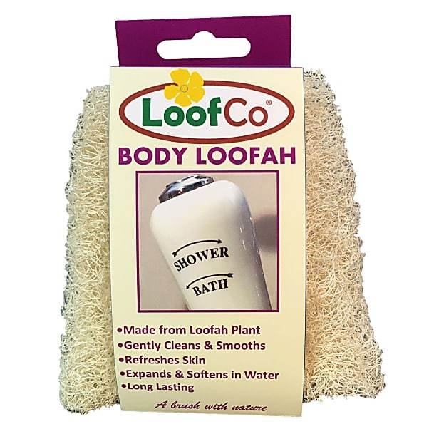 Loof Co All Products Natural Body Loofah