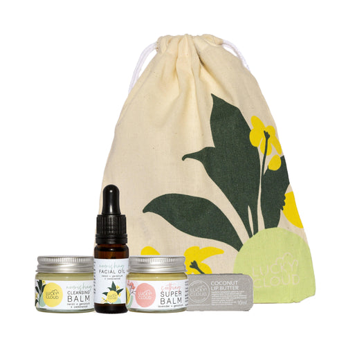 Lucky Cloud Skincare All Products Mini Nourishing Skincare Kit