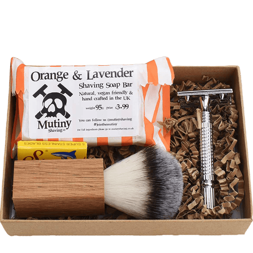 Mutiny Shaving All Products Orange & Lavender Ultimate Zero Waste Shaving Kit