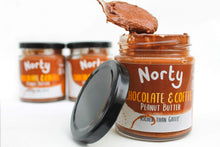 Load image into Gallery viewer, Norty All Products Chocolate and Coffee Peanut Butter Organic Nut Butter