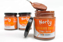 Load image into Gallery viewer, Norty All Products Chocolate Orange Peanut Butter Organic Nut Butter
