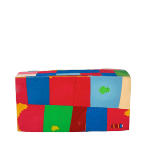 Ocean Sole Africa All Products Upcycled Yoga Block Made From Flip Flops