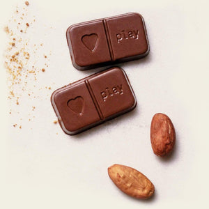 PlayIn Choc All Products JustChoc Organic Peruvian Cacao M*lk Chocolate 30g