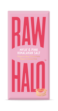 Load image into Gallery viewer, Raw Halo All Products Mylk & Pink Himalayan Salts Large Raw Halo Organic Vegan Chocolate 70g