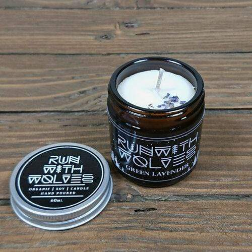 Run With Wolves All Products Green Lavender Vegan Soy Candle 60ml
