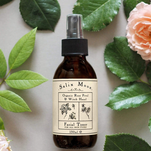 Salix Moon Apothecary All Products Atomiser Spray Organic Rose Petal & Witch Hazel Facial Toner