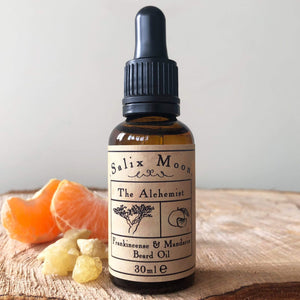 Salix Moon Apothecary All Products Frankincense & Mandarin / Pipette Botanical Beard Oil