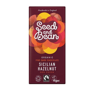 Seed & Bean All Products Sicilian Hazelnut Dark Chocolate