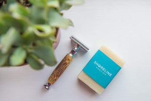 Shoreline Shaving All Products Bamboo Safety Razor Gift Box