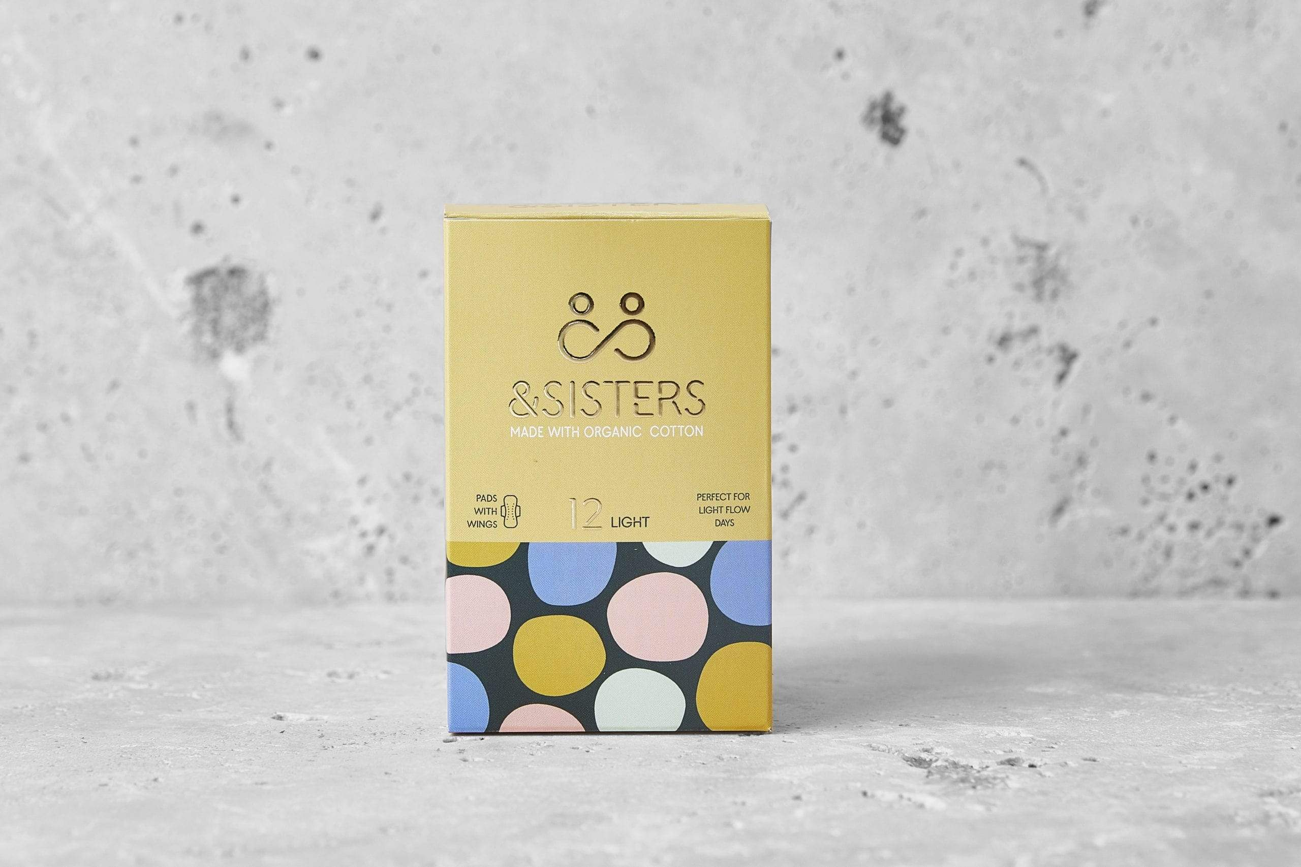 &sisters All Products Light Organic Cotton Pads With Wings