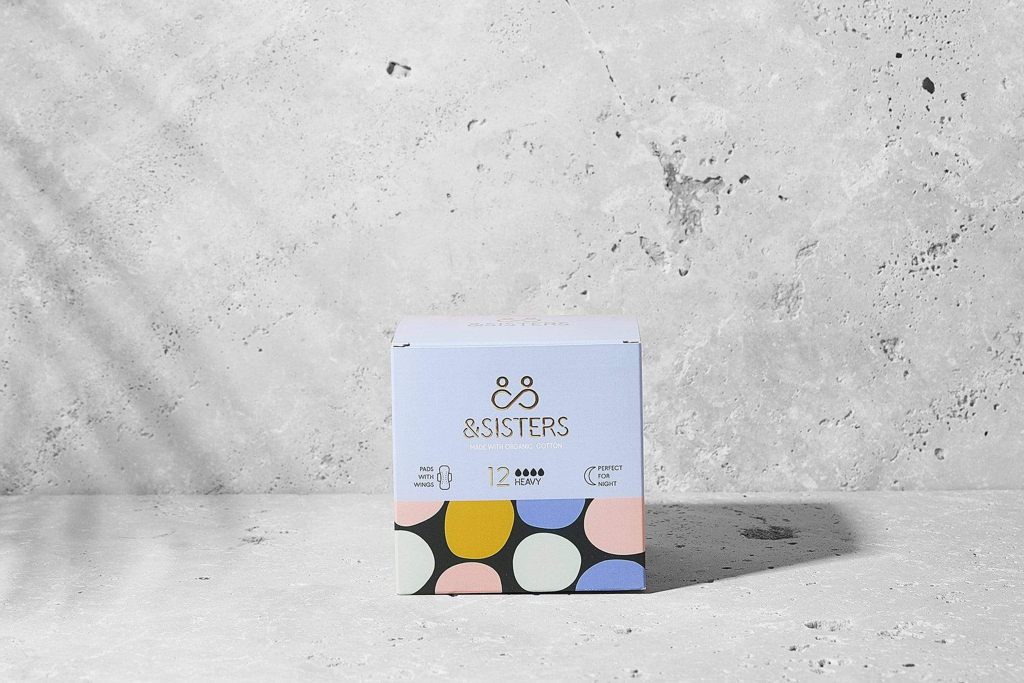 &sisters All Products Organic Cotton Pads With Wings