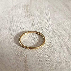 Smoke & Ash All Products Recycled Gold Stacking Ring