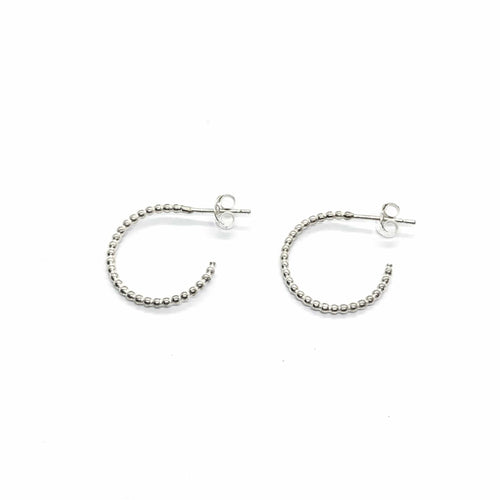Smoke & Ash All Products Recycled Silver Bubble Hoops