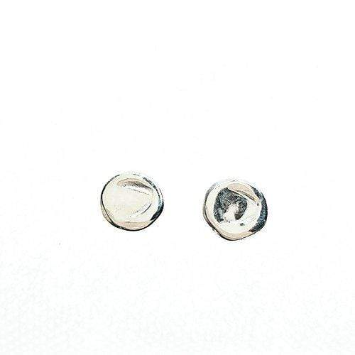 Smoke & Ash All Products Recycled Silver Full Moon Studs