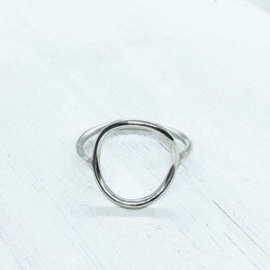 Smoke & Ash All Products Recycled Silver Karma Ring
