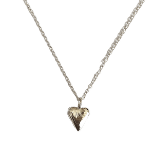Smoke & Ash All Products Recycled Silver Little Love Necklace