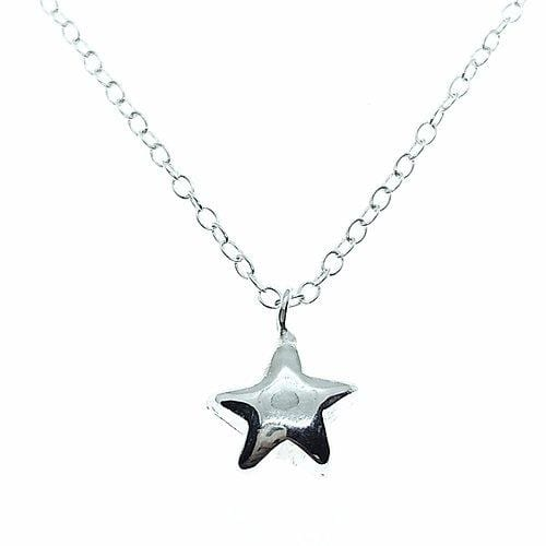 Smoke & Ash All Products Recycled Silver Little Star Necklace