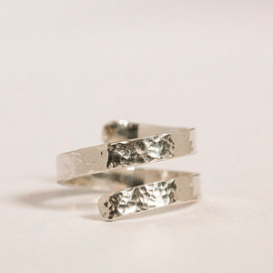 Smoke & Ash All Products Recycled Silver Twist Ring