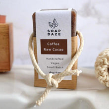 Load image into Gallery viewer, Soap Daze All Products Coffee and Raw Cacao Soap On A Rope