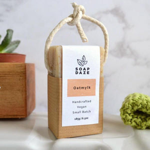 Soap Daze All Products Oatmylk Soap On A Rope