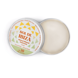 Sol De Ibiza All Products Natural Organic Vegan Sunscreen SPF30