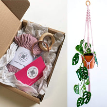 Load image into Gallery viewer, The Kind Store DIY Macramé Plant Hanger Kit
