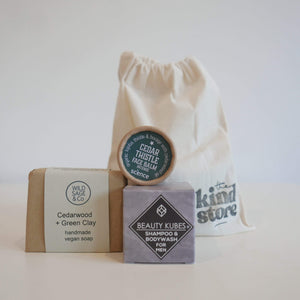 The Kind Store All Products Mens Vegan Essentials Gift Bag