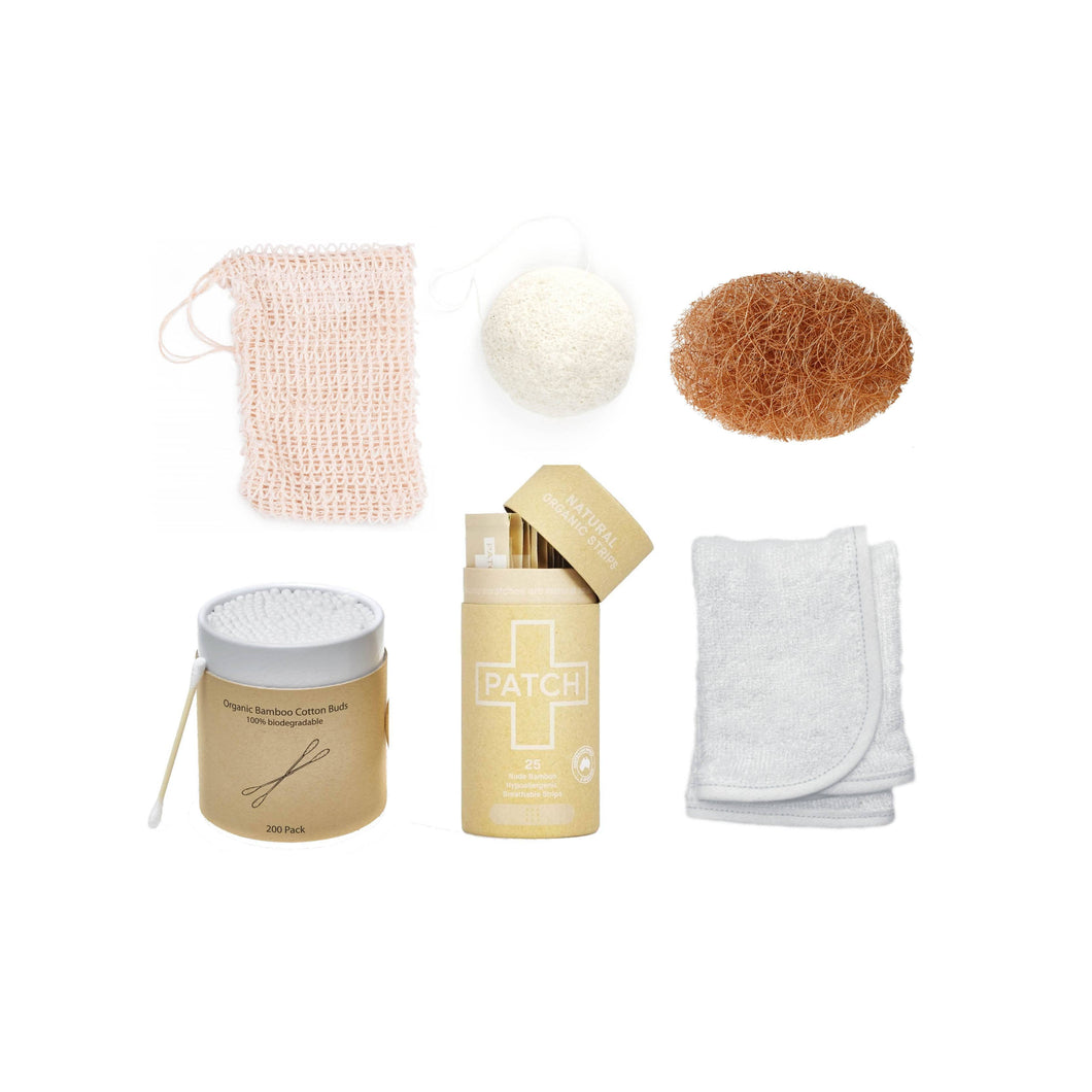 The Kind Store All Products Plastic Free Bathroom Bundle