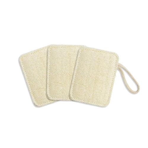 The Kind Store All Products Rectangular Loofah Pad x3