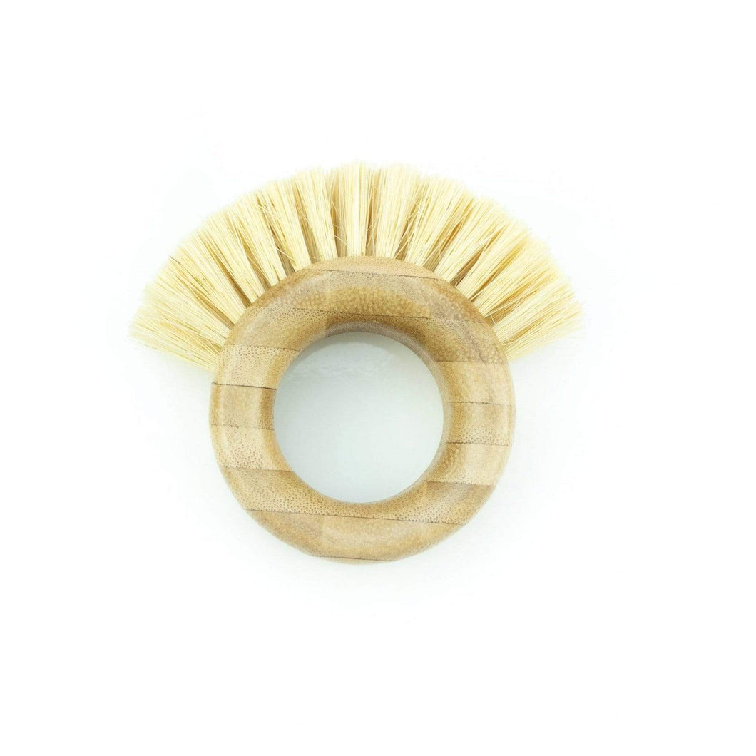 The Kind Store All Products Ring Shaped Bamboo Washing Up Brush