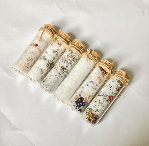 The Salty Herb All Products Bath Salts Shot in Glass Tube