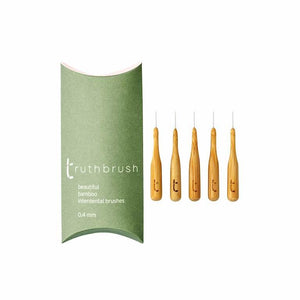 Truthbrush All Products Bamboo Interdental Brushes 0.40mm