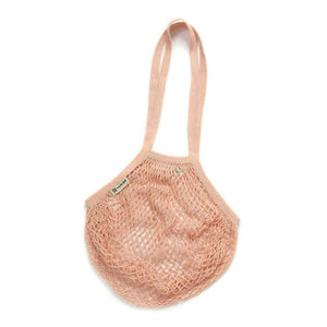 Turtle Bags All Products Blush Long Handle String Bag