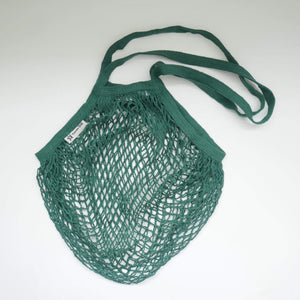 Turtle Bags All Products Green Long Handle String Bag