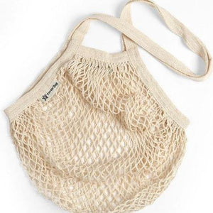 Turtle Bags All Products Natural Long Handle String Bag