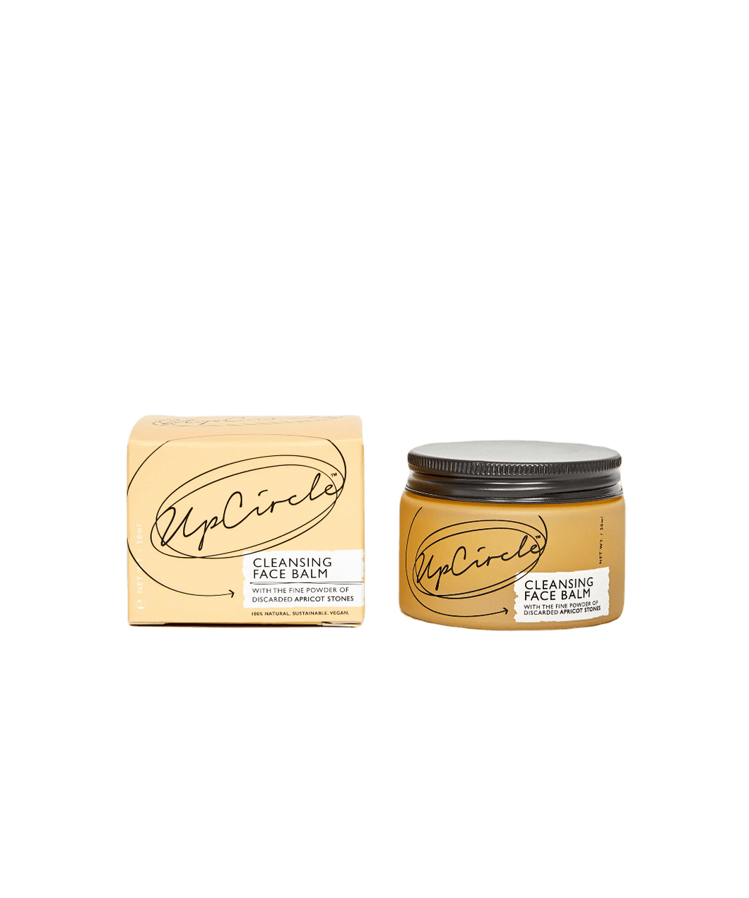 Upcircle All Products Cleansing Balm with Apricot Powder